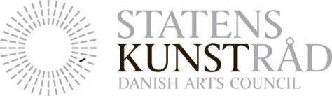 Projektet er støttet af Statens Kunstråd